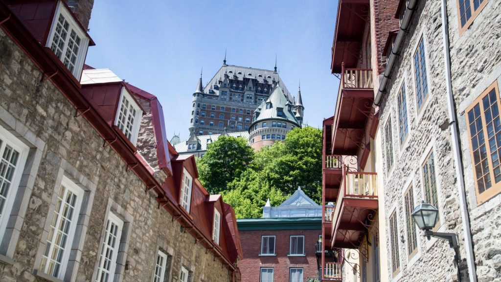 Old Town, Quebec City, Eastern Canada