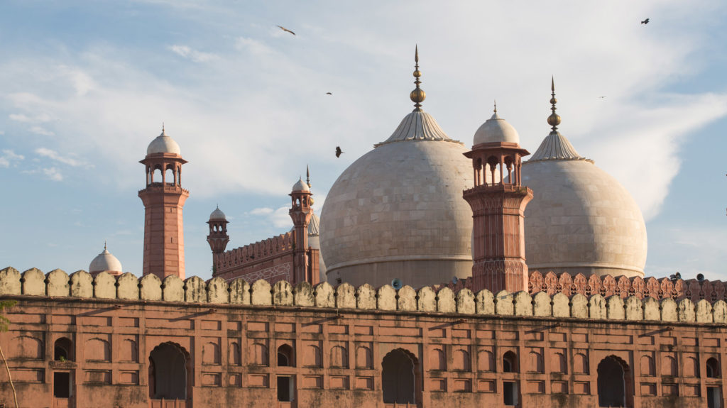 The Emperor's Mosque, Badshahi Masjid, Lahore, Pakistan