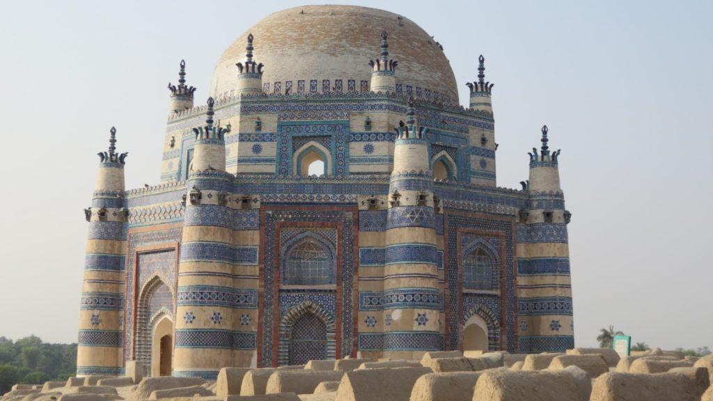 Uch Sharif and Mud Tombs, Punjab, Pakistan