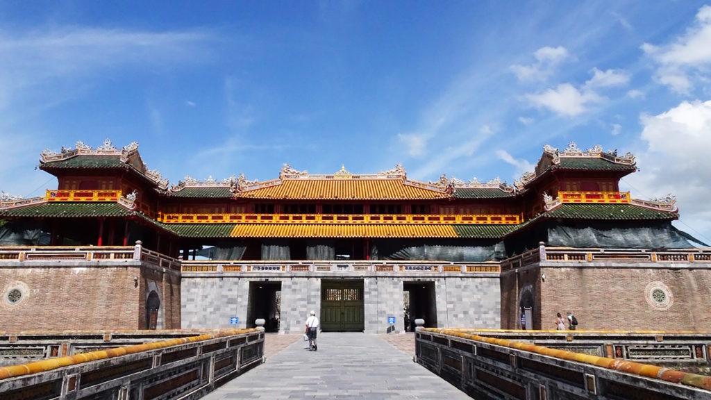 Hue palace entrance