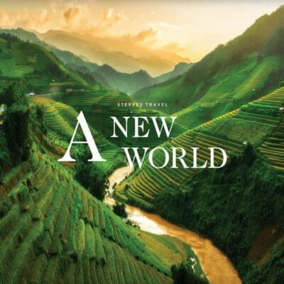 a new world brochure, steppes travel