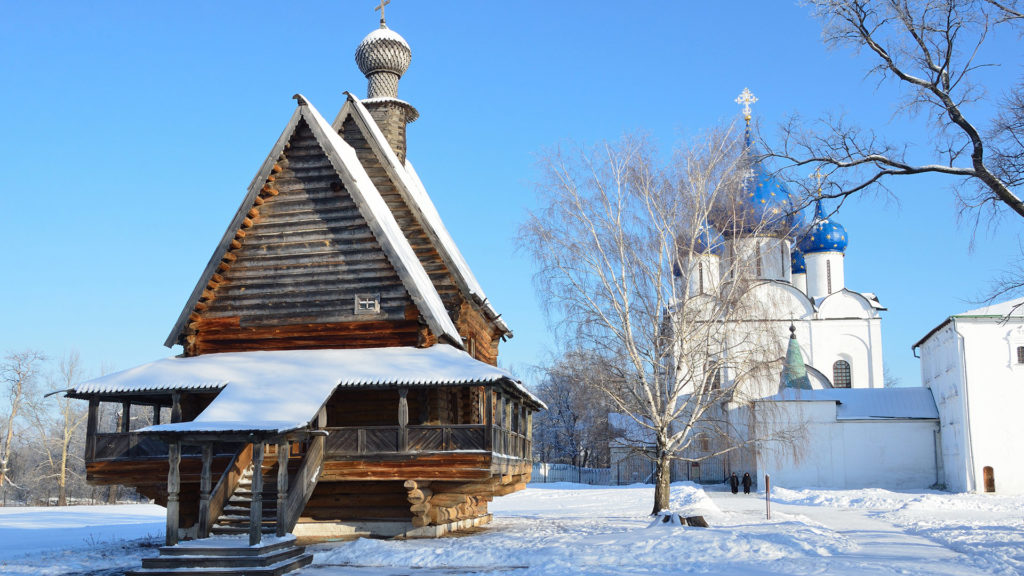 The Church of St. Nicholas on the territory of the Suzdal Kremlin