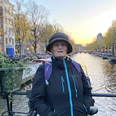 Alison Frusher in Amsterdam