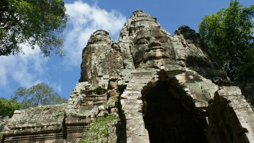 Angkor Thom Gate, Angkor Wat, Cambodia