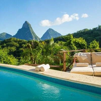 Anse Chastanet Resort, Casaurina Pool Suite, Soufriere, Saint Lucia