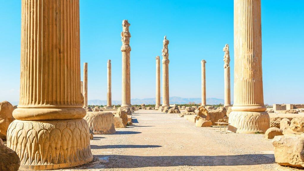 Apadana Palace, Persepolis, Shiraz, Iran