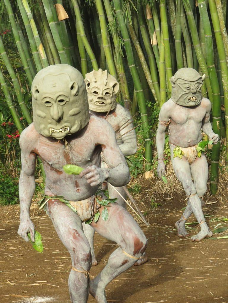 Asaro Mud Dance, Goroka, Papua New Guinea