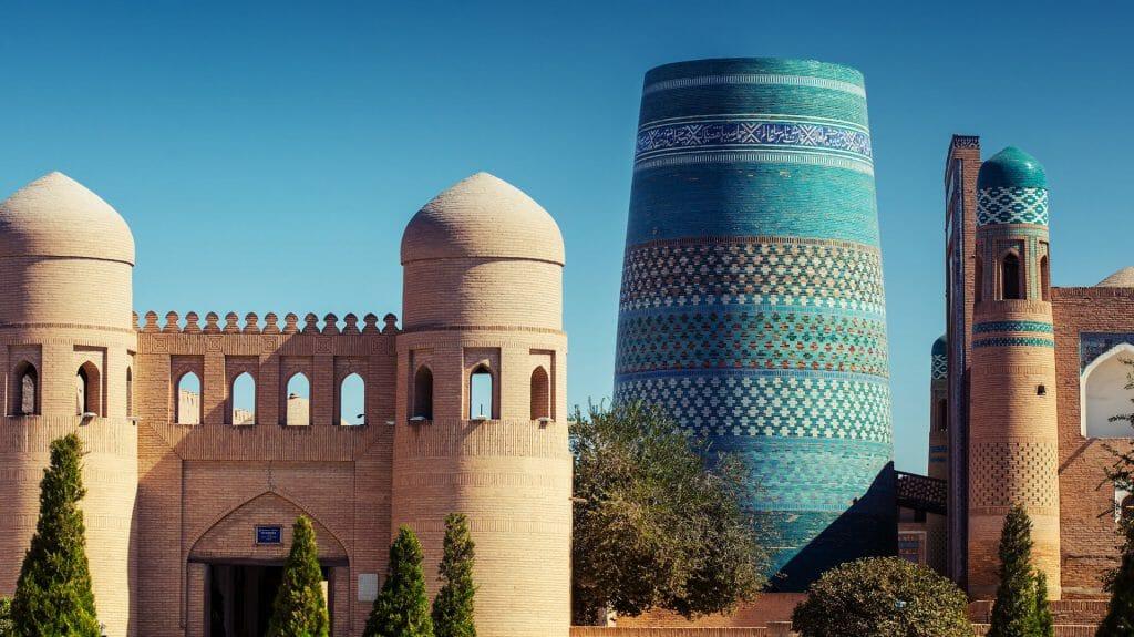 Ata Darvoza, Itchan Kala, Khiva, Uzbekistan