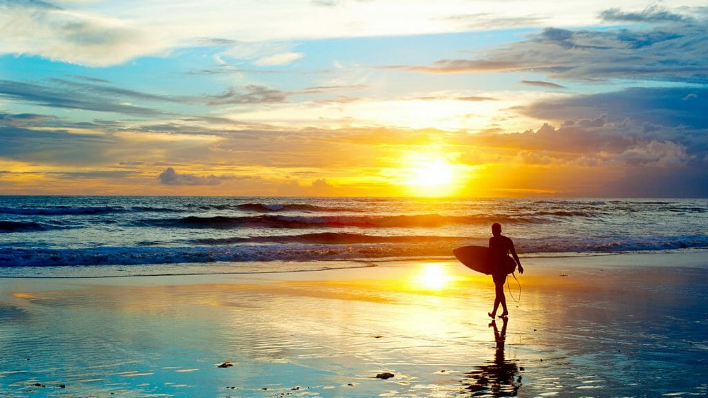 Bali Sunset, Indonesia