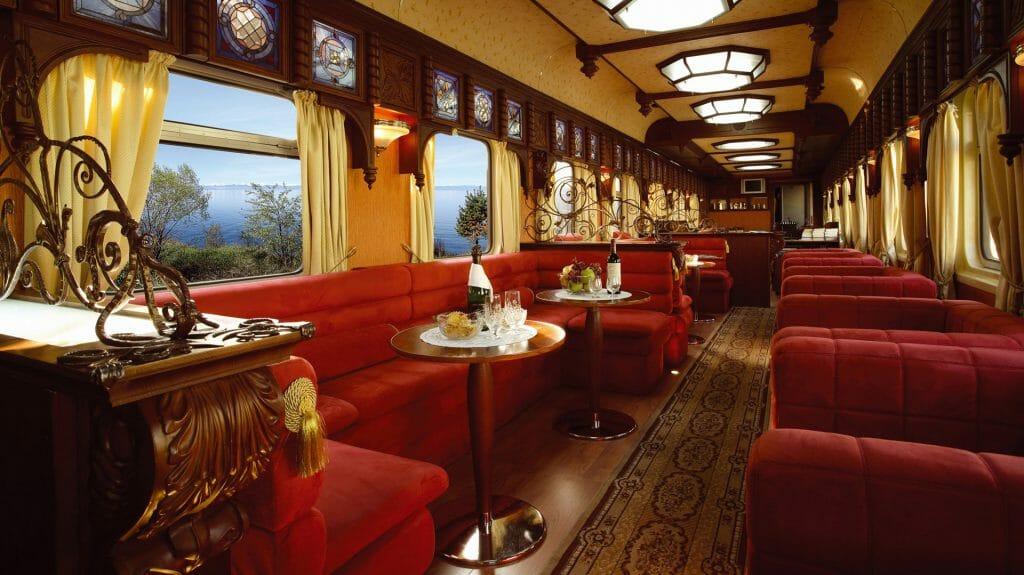 Bar Car, Golden Eagle Train, Iran