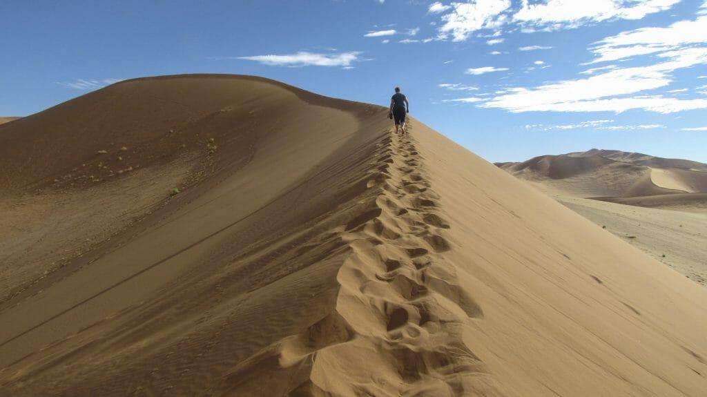 Big Sand Dune, Sossusvlei, Namibia