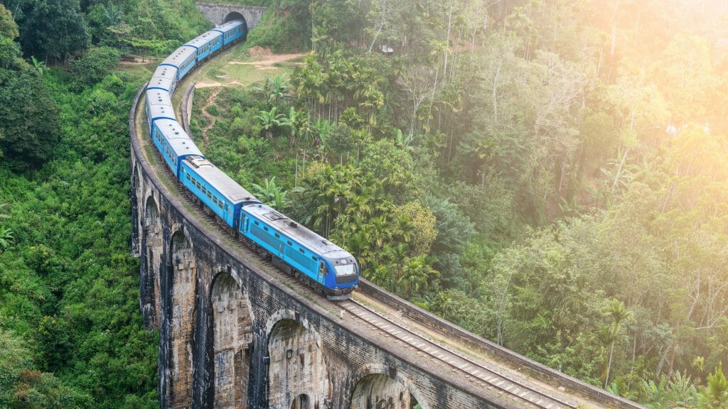 Blue Train, Sri Lanka