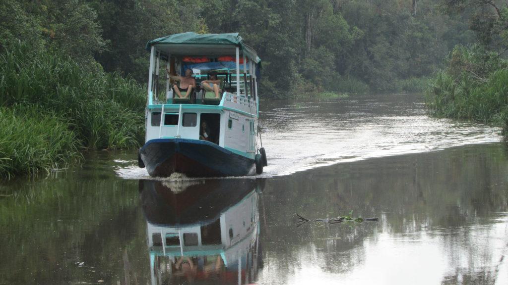 Boat, Rimba Lodge, Tanjung Puting National Park, Indonesia