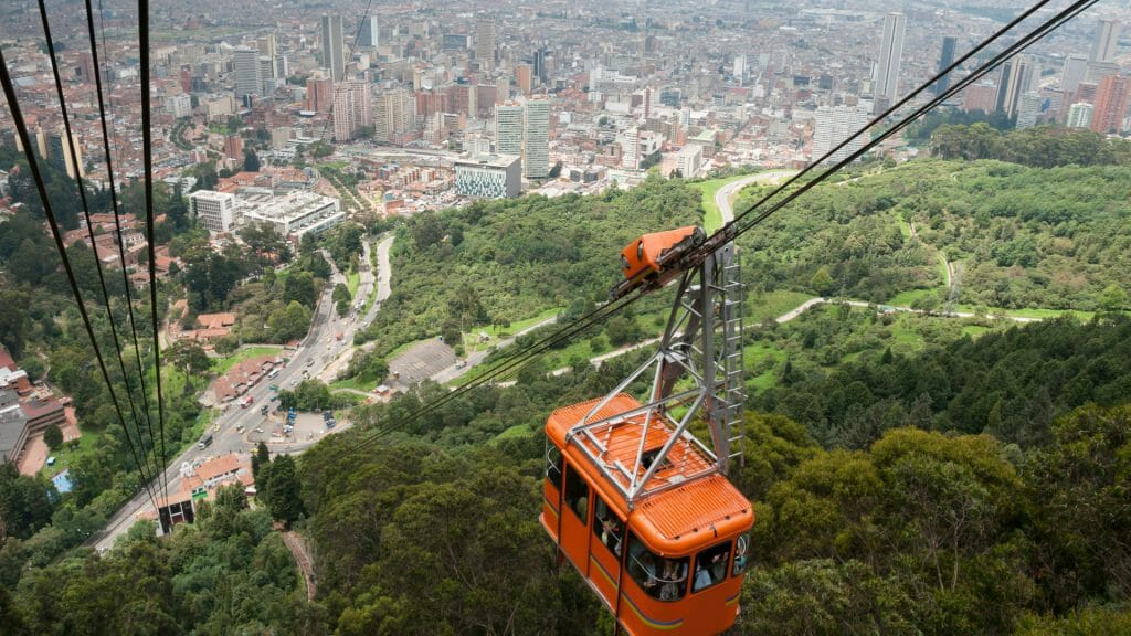 Cable Car, Bogota, Colombia
