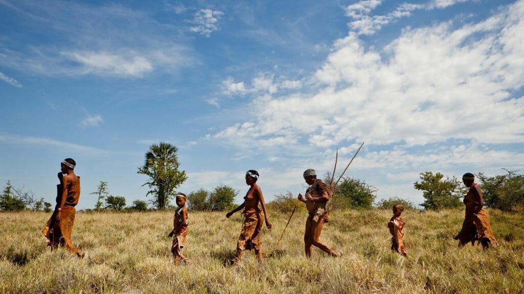 Bushmen, Makgadikgadi, Botswana