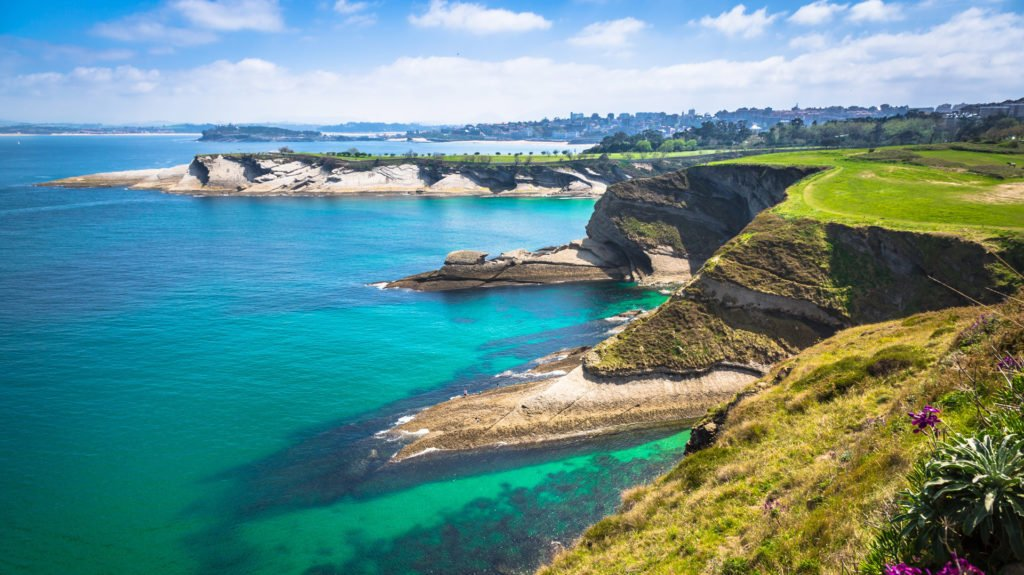 Cantabria Coast, The Basque Country, Spain