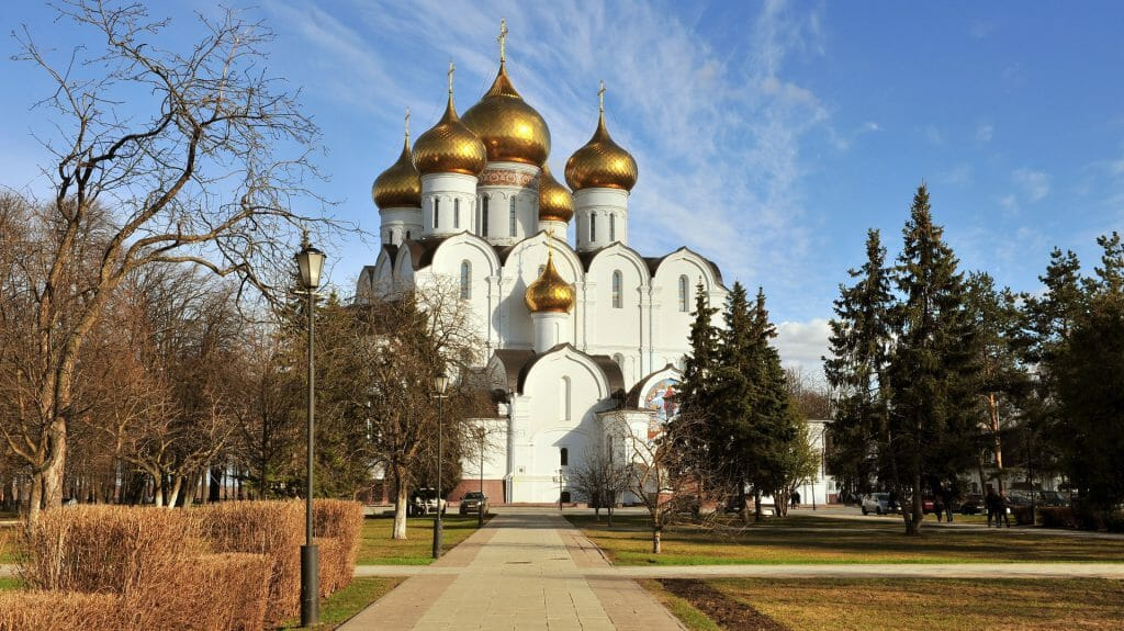 Cathedral of Assumption, Yaroslavl, Golden Ring, Russia