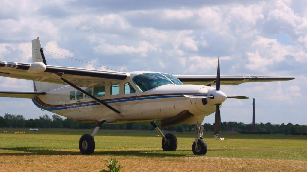 Cessna Caravan plane, Kenya