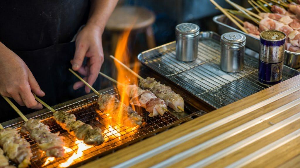Chicken BBQ, Tokyo, Japan