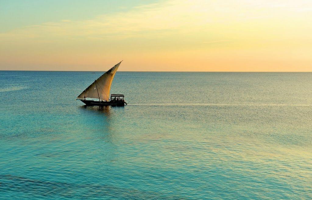Dhow, Swahili Coast, Tanzania