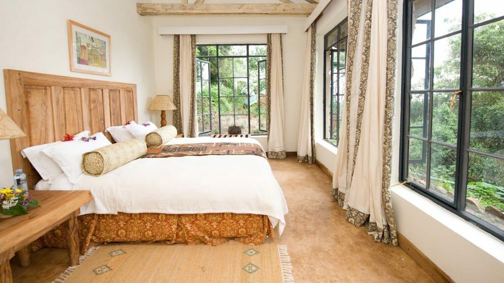 Double Room,Clouds Mountain Gorilla Lodge, Bwindi Forest, Uganda