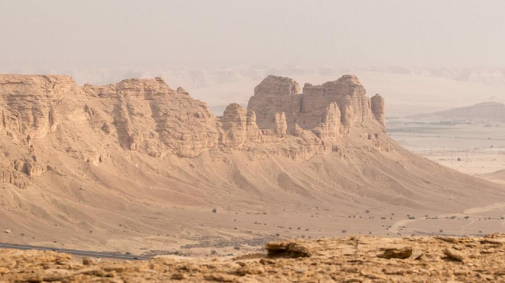Edge of the World, outside Riyadh, Saudi Arabia