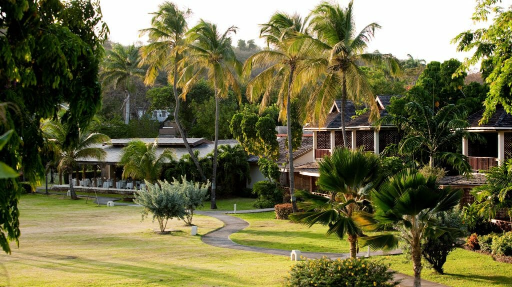 Exterior Front View, The Calabash Hotel, L'anse aux Epines Beach, Grenada