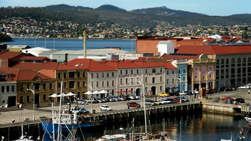 Exterior, Henry Jones Art Hotel, Tasmania, Hobart, Australia