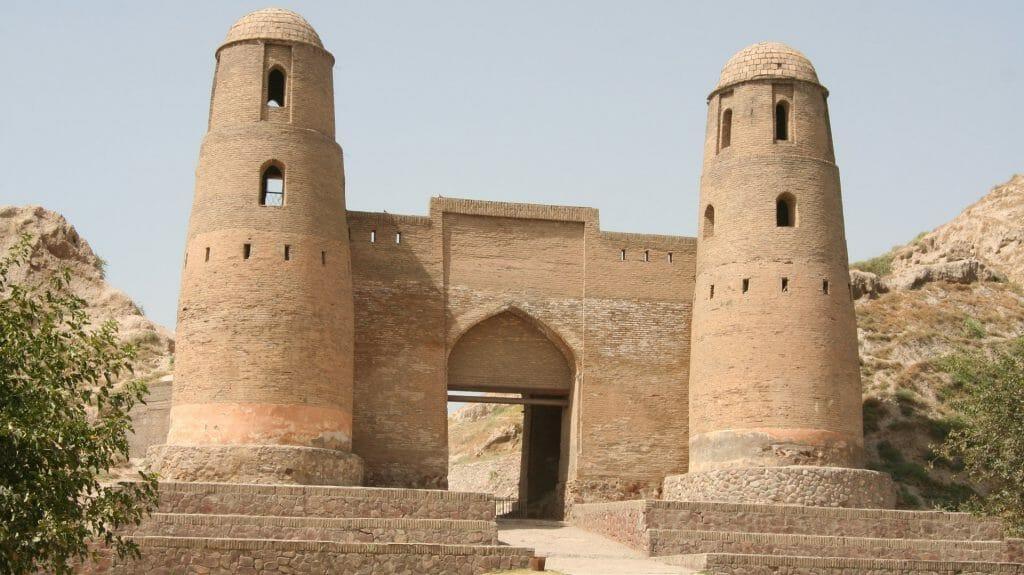 Front Gate of Hissor Fort, Dushanbe, Tajikstan