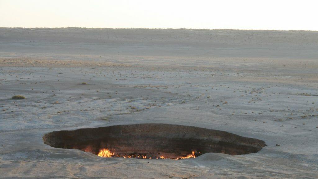Gas Crater, Darvaza, Karakum Desert, Turkmenistan