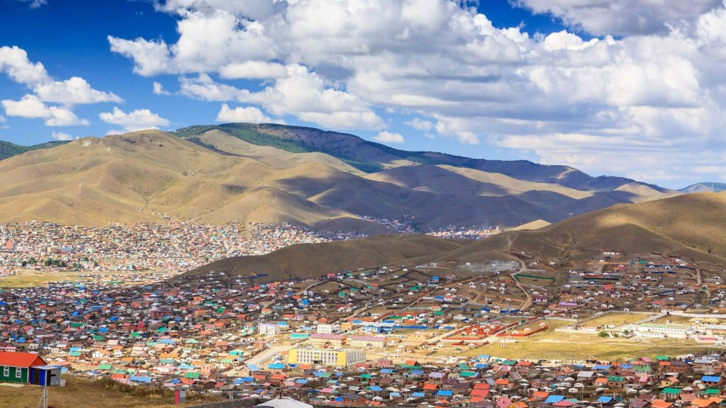 Gers in Ulaanbaatar