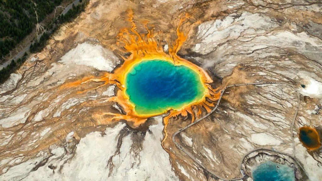 Grand Prismatic, Yellowstone National Park, USA