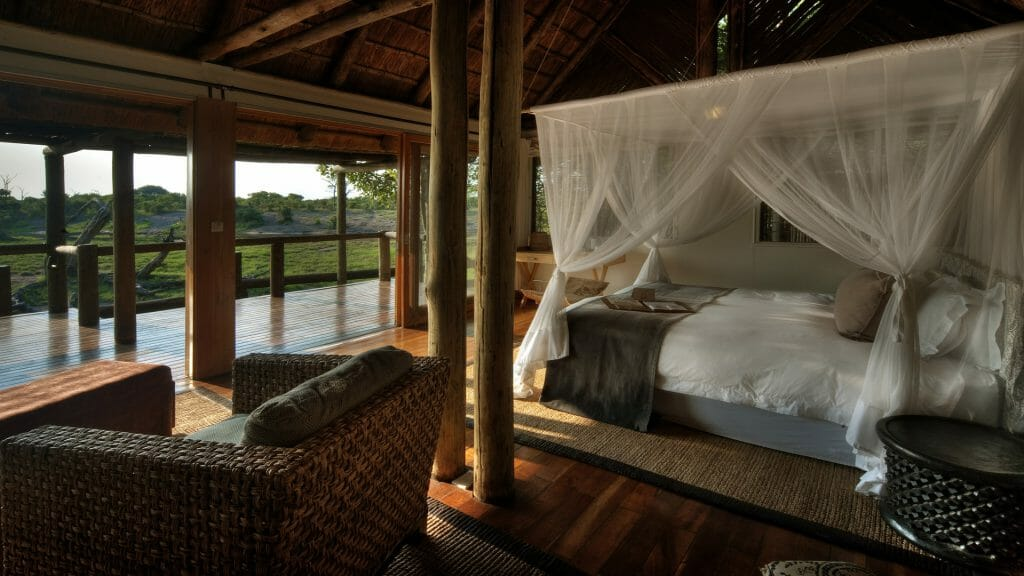 Guest Bedroom, Savute Safari Lodge, Savuti, Botswana