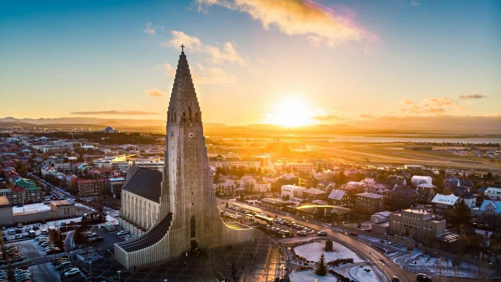 Hallgrimskirkja Cathedral, Reykjavik, Iceland