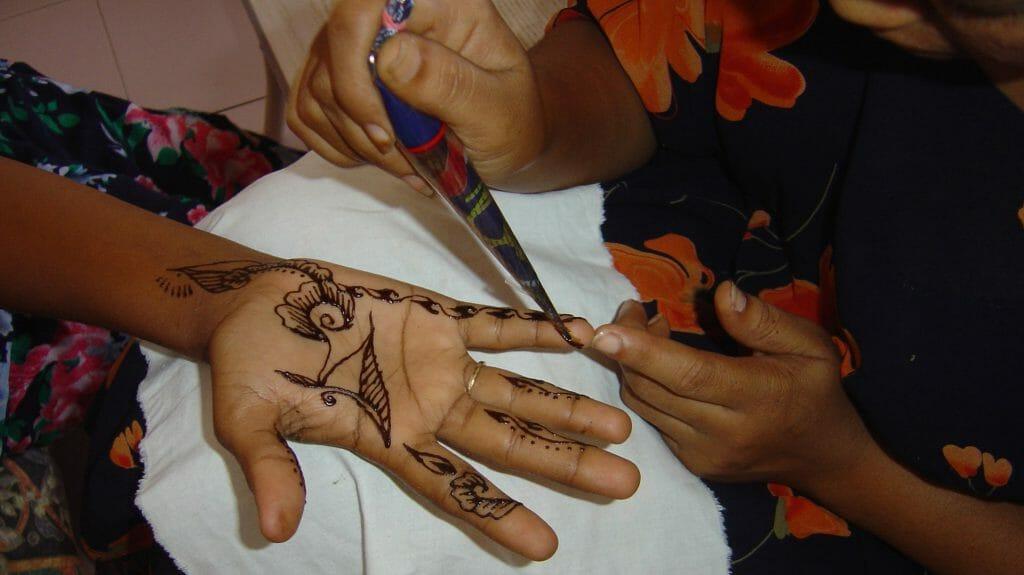 Henna tattooing, Djibouti