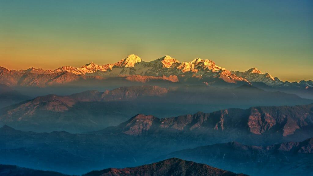 Himalayan View, Pokhara, Nepal