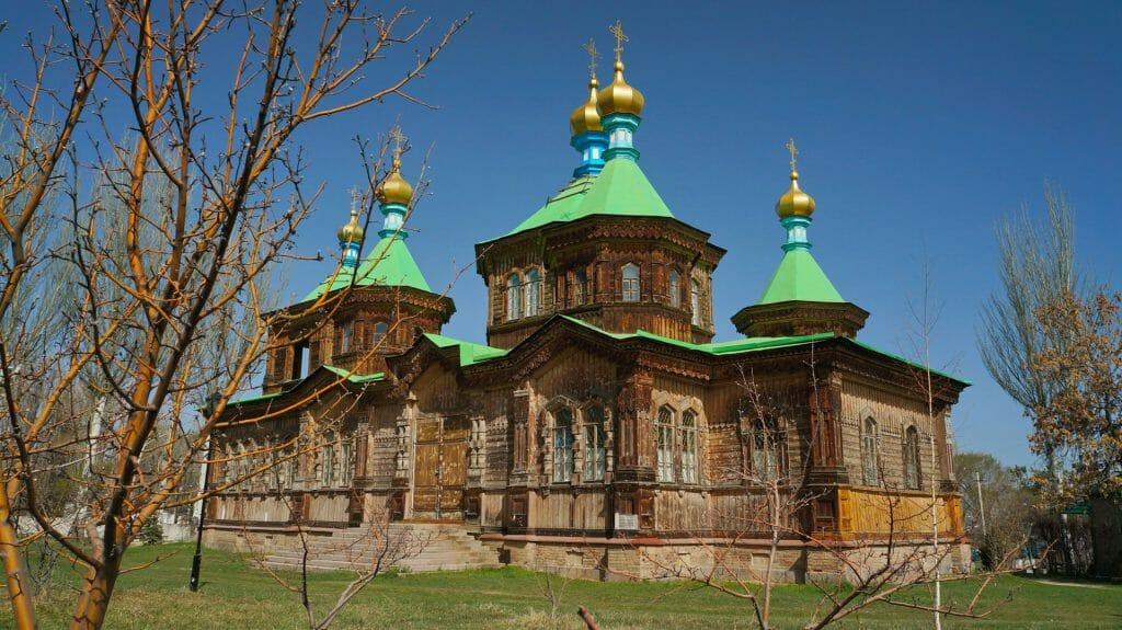Holy Trinity Cathedral, Karakol, Kyrgystan