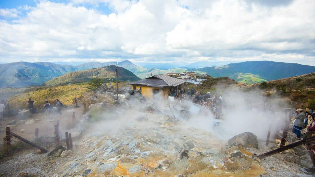 Hot springs, Hakone, Japan