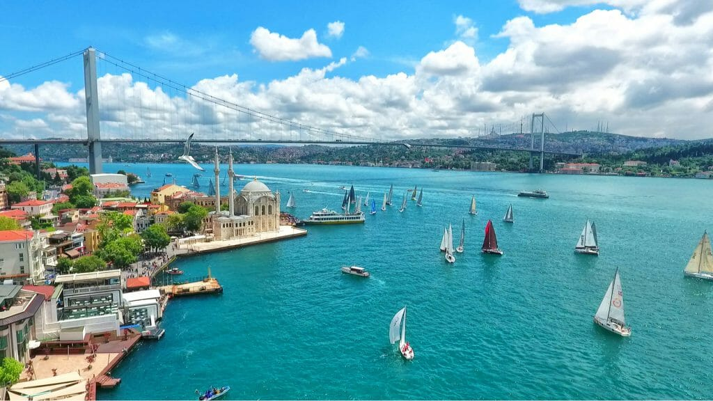 Istanbul Bosphorus Bridge, Turkey