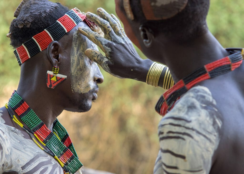 Kara, Body Paint, Ethiopia