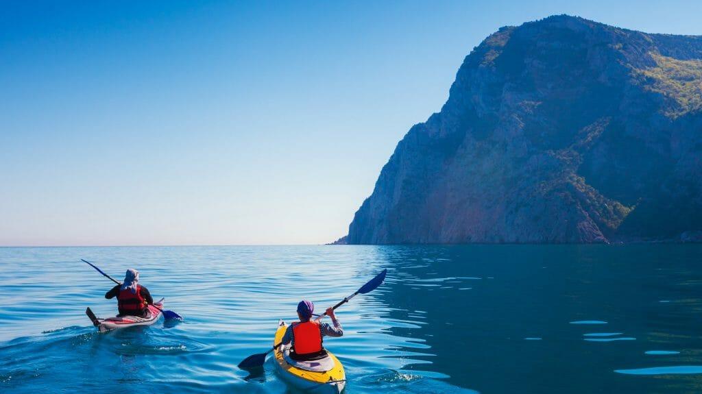 Kayaking, Hawaii, USA
