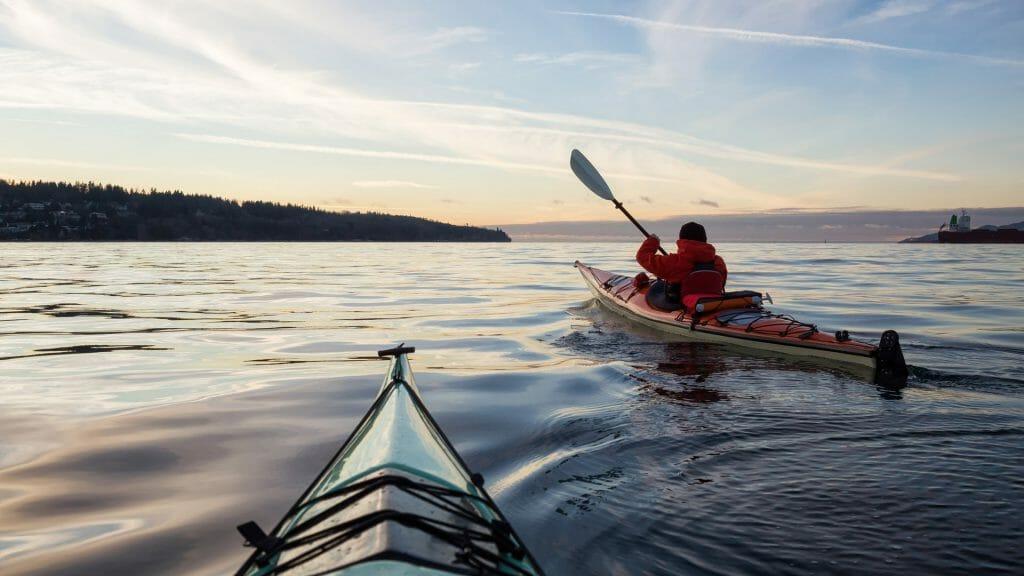 Kayaking, British Columbia, Canada
