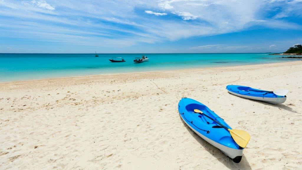 Kayaking, Mozambique