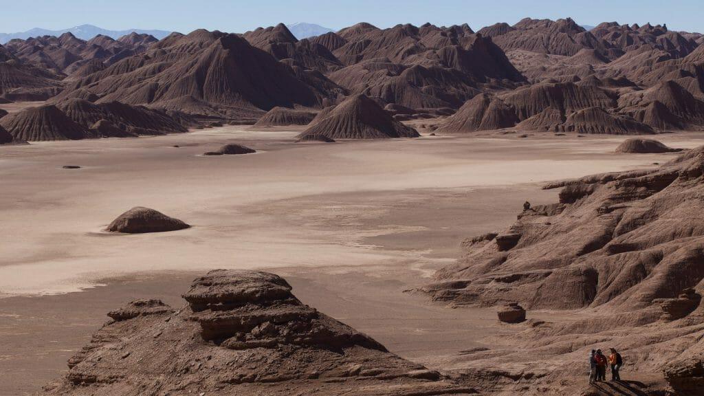Labyrinth desert, NW Argentina