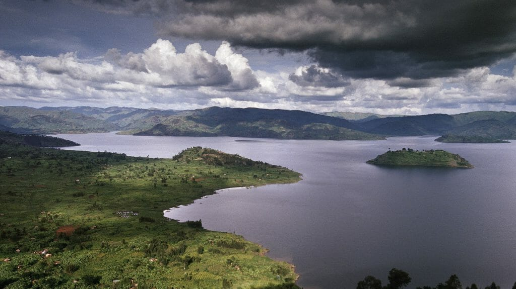 Lake View, Volcanoes National Park, Rwanda