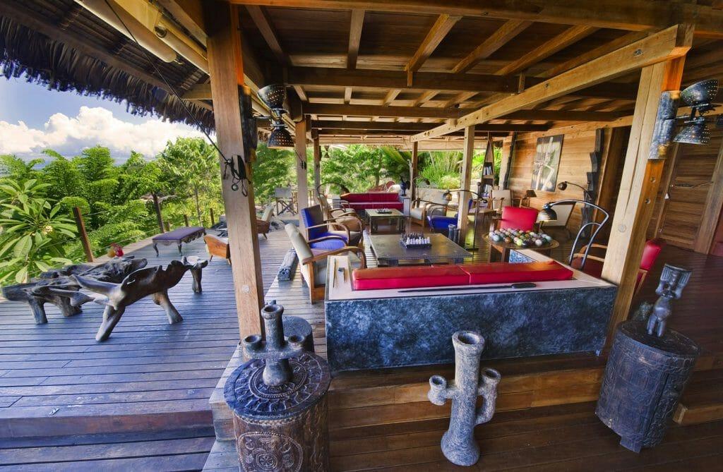 Lodge, Tsara Komba, Nosy Be, Madagascar