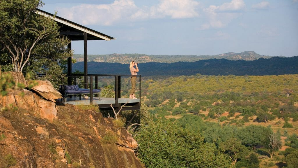 Looking out over the park, The Outpost, Kruger National Park
