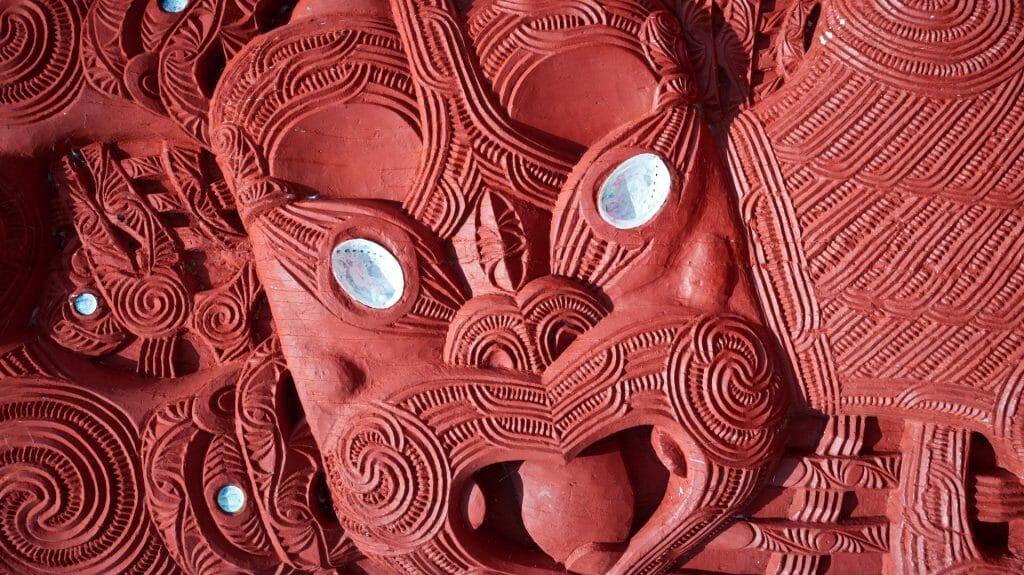 Maori Carving, Rotorua, New Zealand