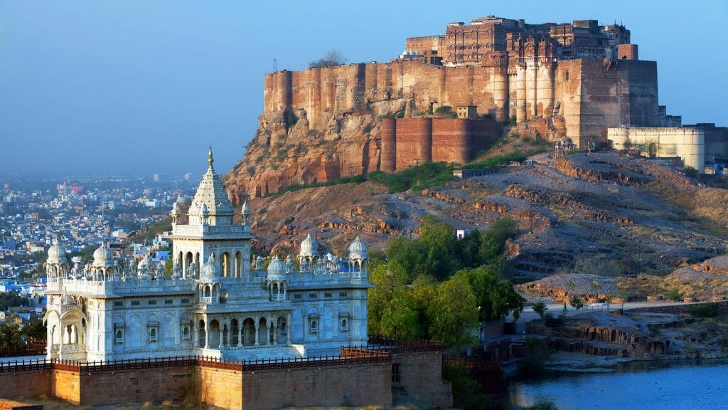 Mehrangarh Fort and Jaswant Thada Mausoleum, Jodhpur, India