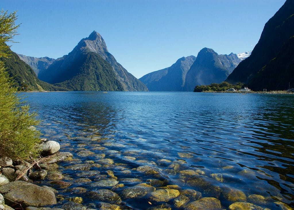 Milford Sound, South Island, New Zealands